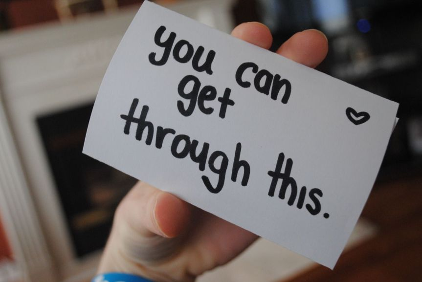 you can get through this