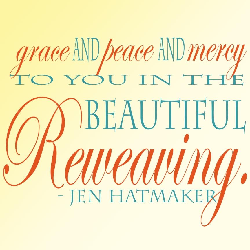 Reweaving Jen Hatmaker