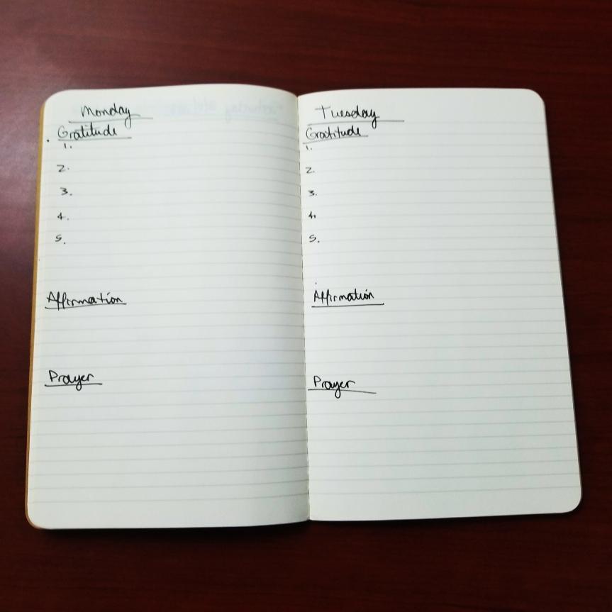 Gratitude Journal - Iamsandykay