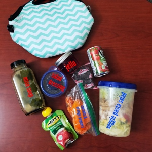 SK - healthy work lunch and snacks