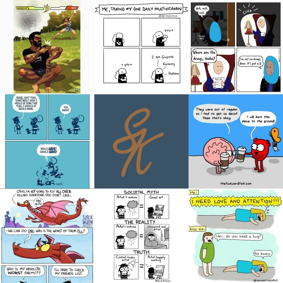SK - Favorite Instagram Comics