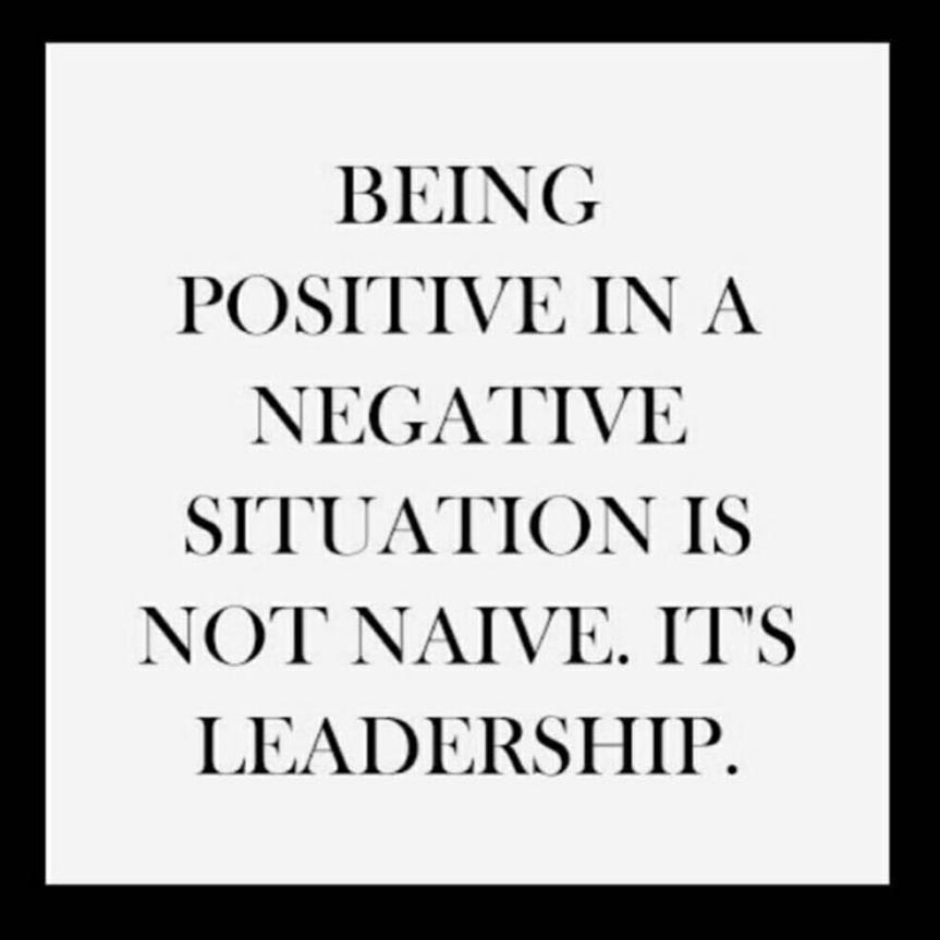 SK - Positive leadership