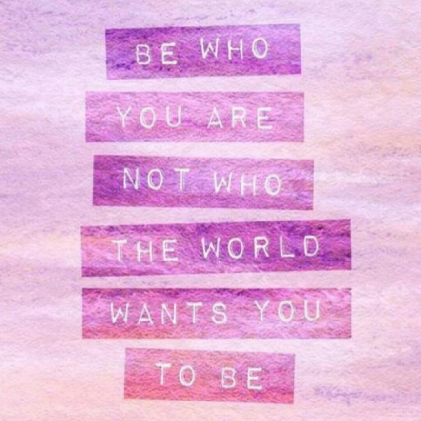 SK - Be who you are