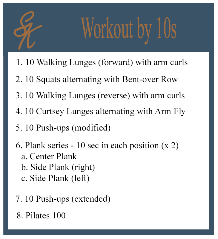 Sandy Kay - Workout by 10s