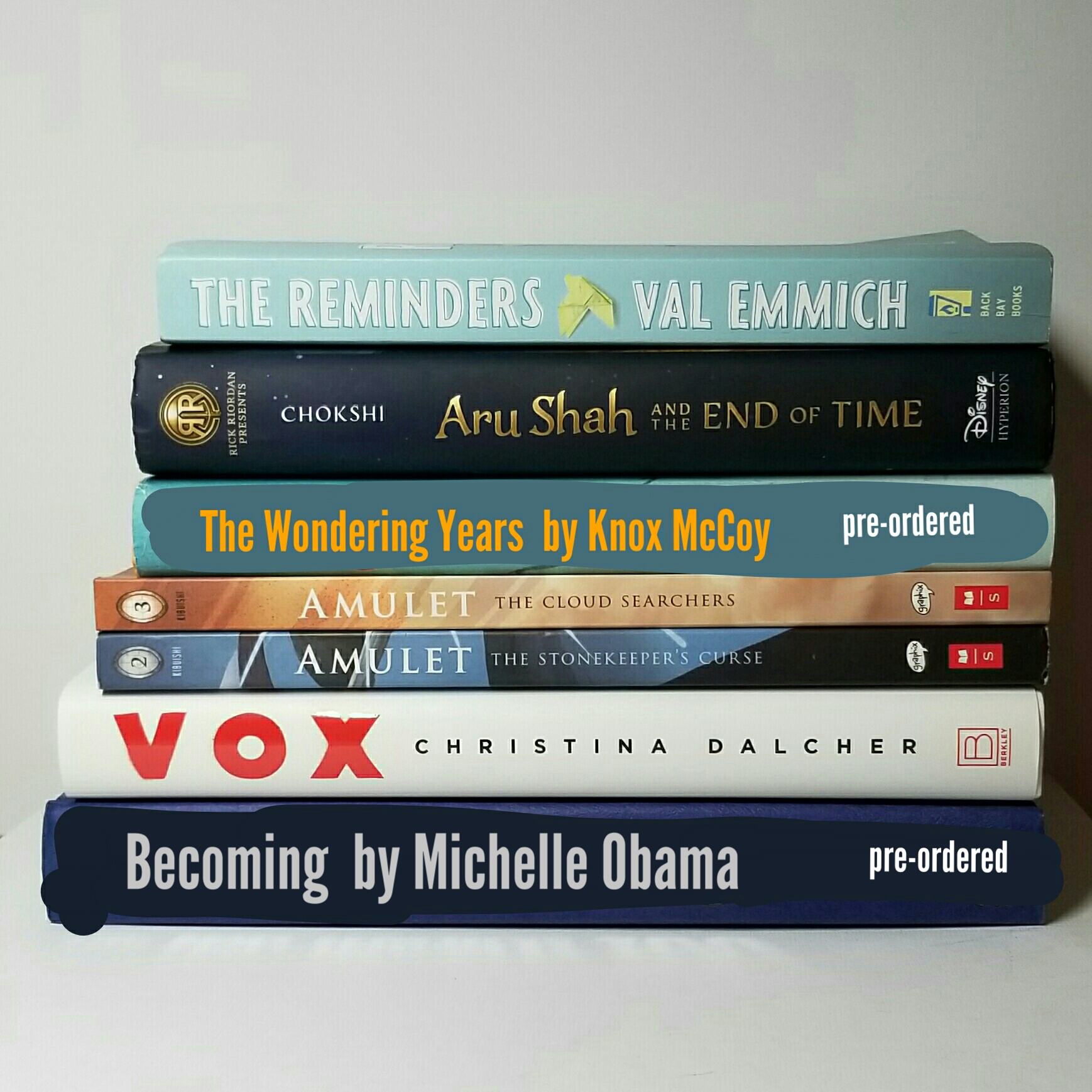 SK Final Fifty Book Stack