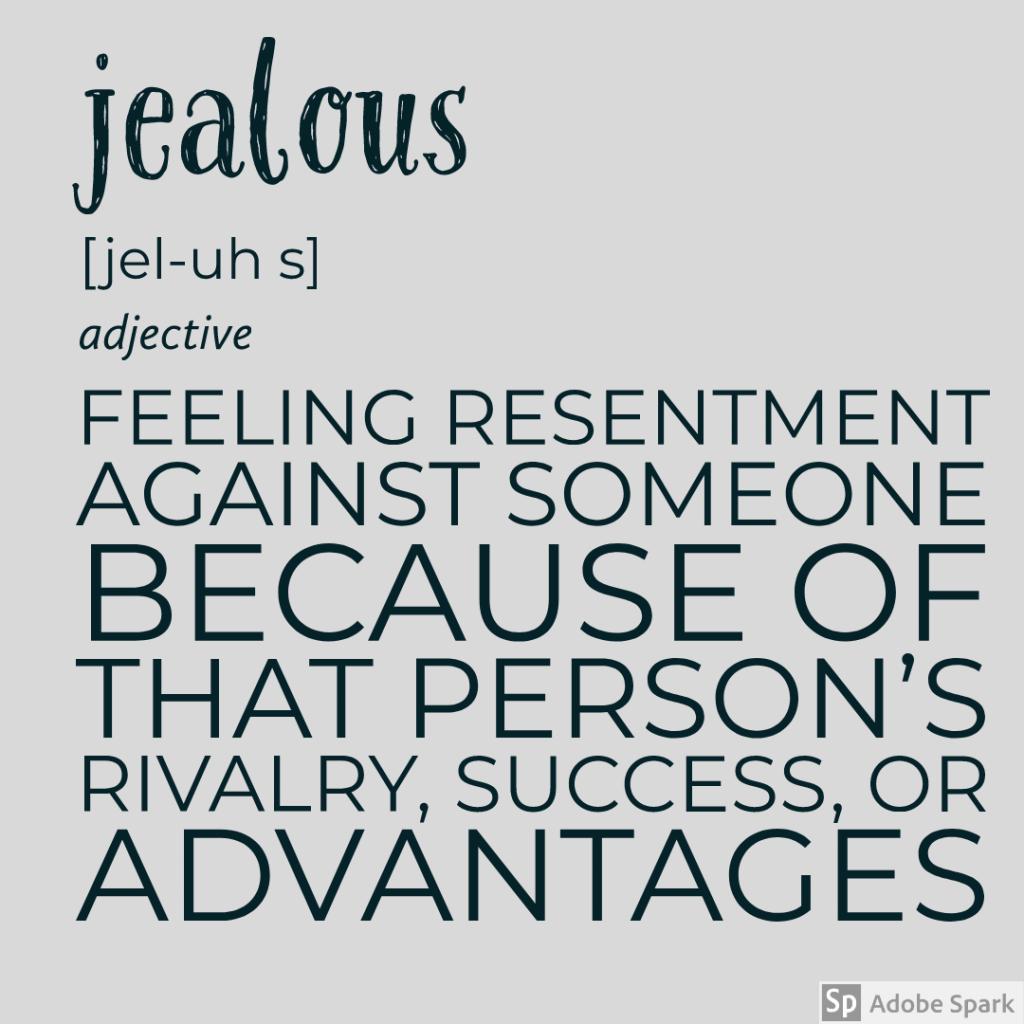 Jealous definition
