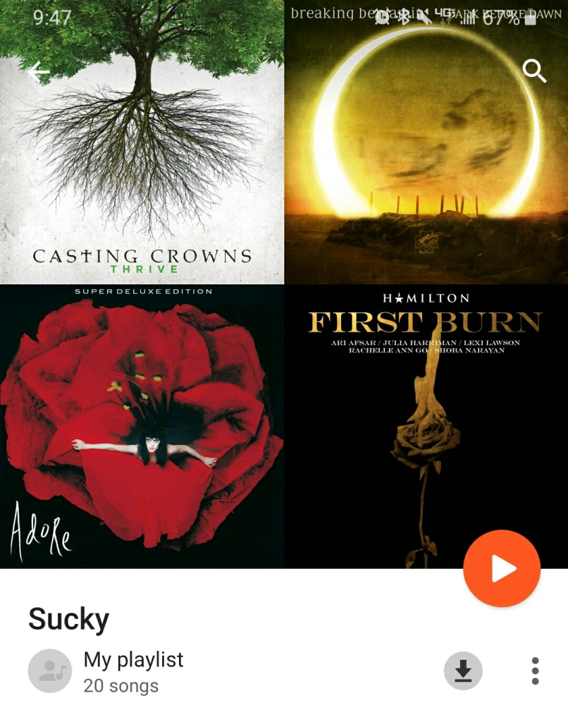 Sucky Playlist