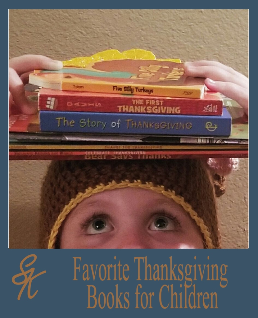 SK Thanksgiving Books for Children Stack
