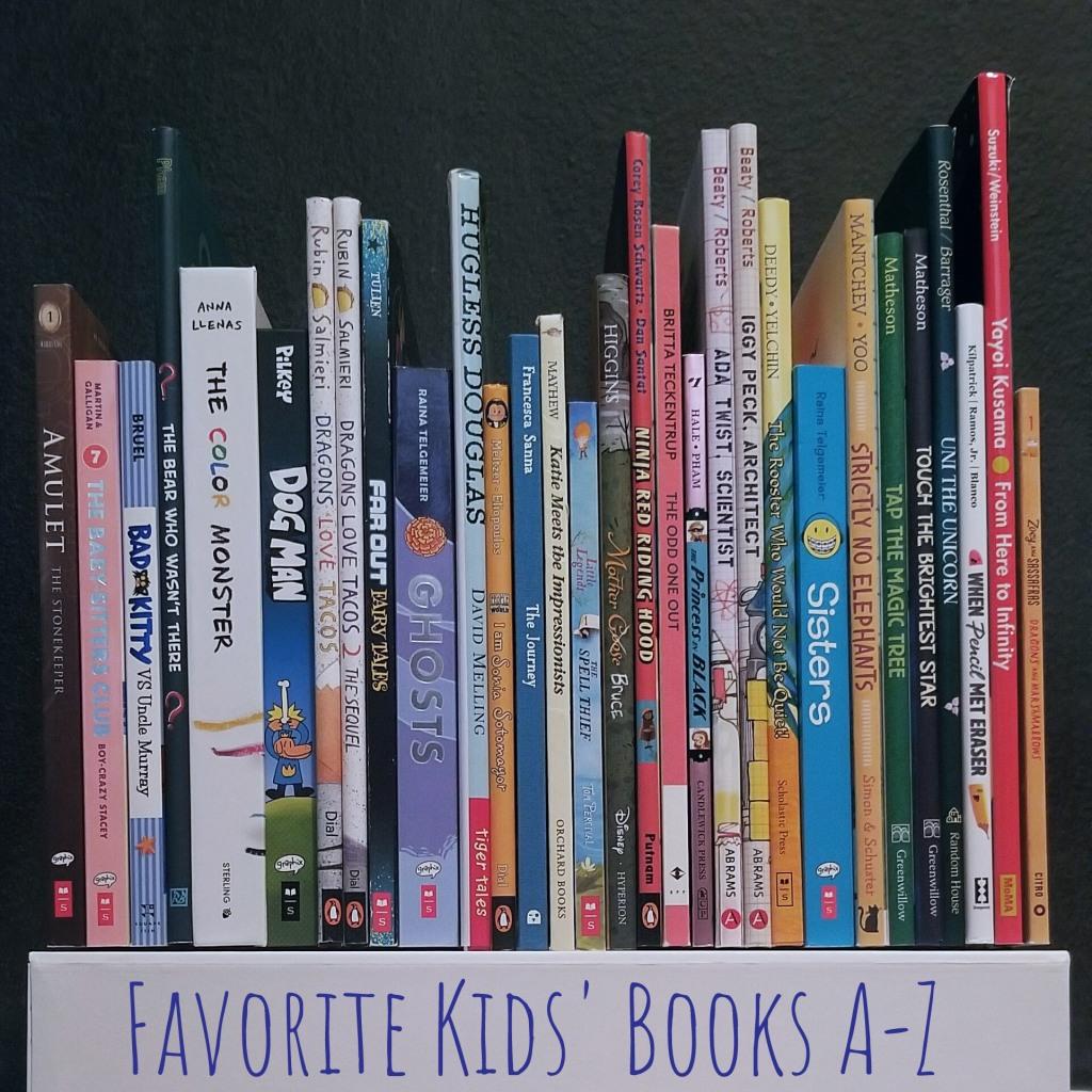 SandyKay Favorite Kids' Books A to Z