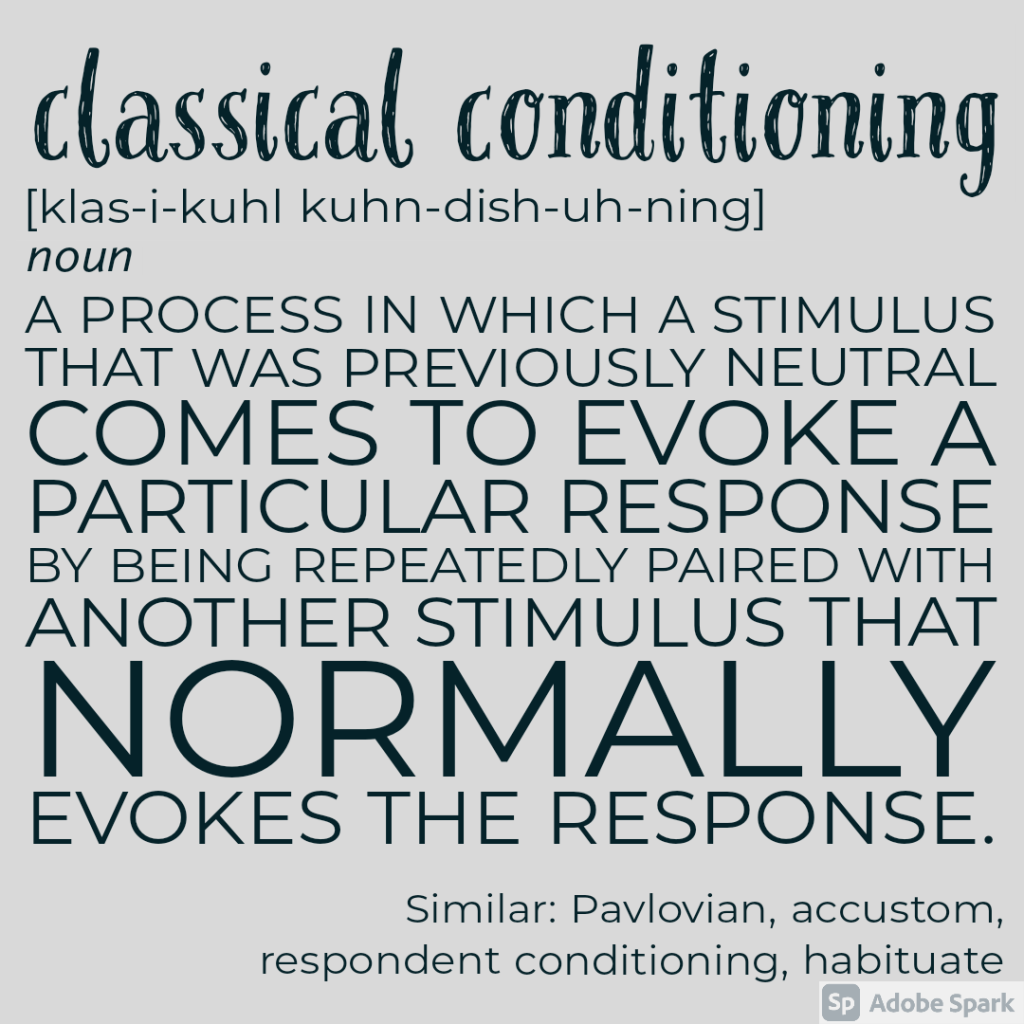 Classical Conditioning definition