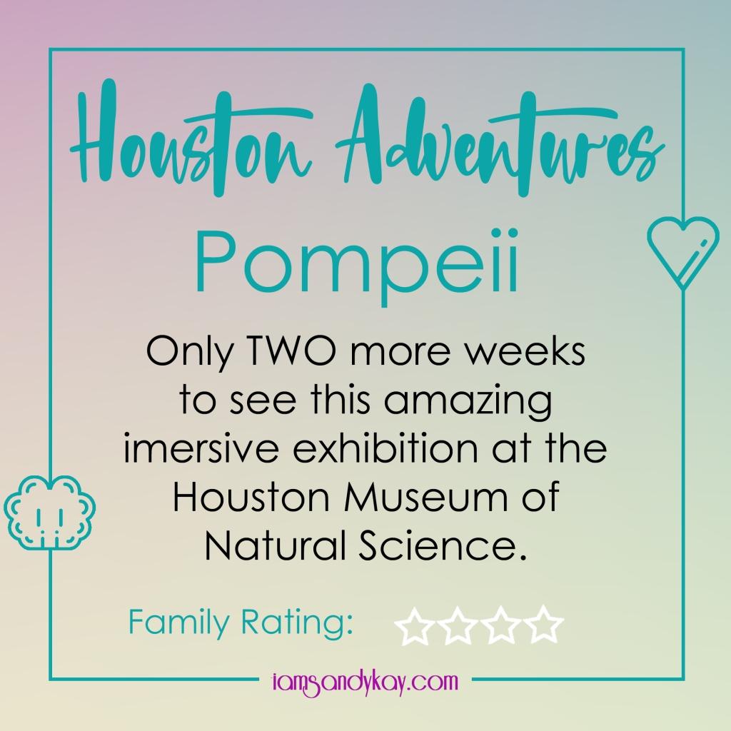 Houston Adventures - Pompeii at HMNS