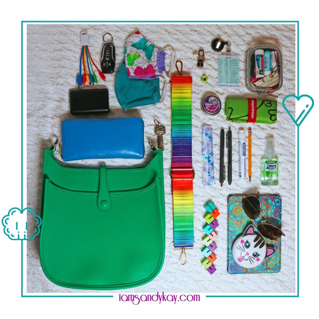SK Favorite Green Bag
