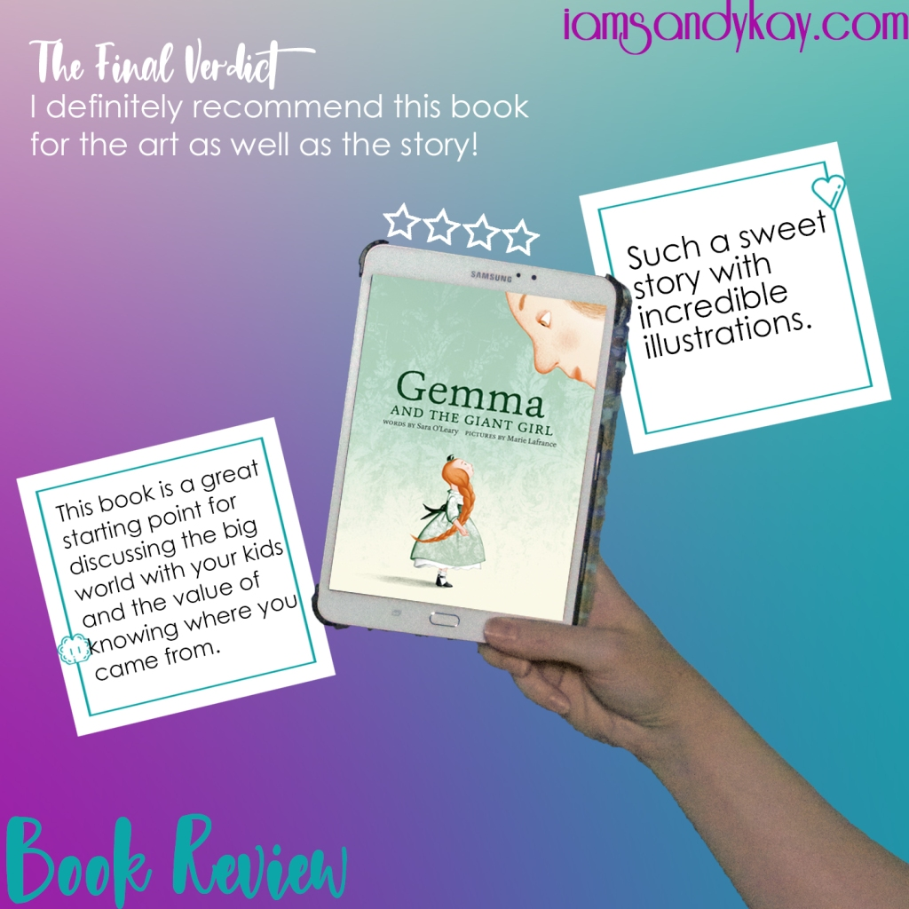 SK Book Review - Gemma and the Giant Girl